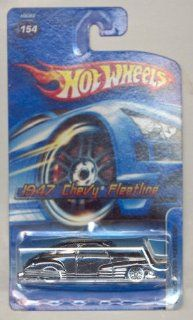 Hot wheels 2005 154 BLACK 1947 Chevy Fleetline 164 Scale Toys & Games
