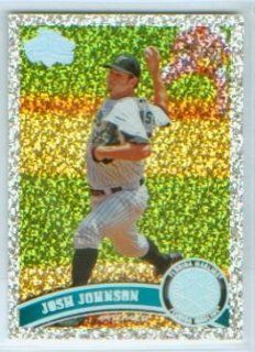 Josh Johnson 2011 Topps Baseball Platinum Parallel Diamond Anniversary Insert Card #166 / Florida Marlins
