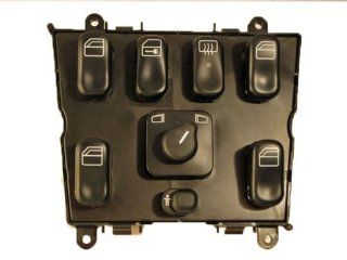 OE / Genuine Master Window Switch Console / Cluster # 1638206610   Mercedes Benz / MB # 163 820 66 10   Fits ML320, ML430, ML55 AMG Automotive