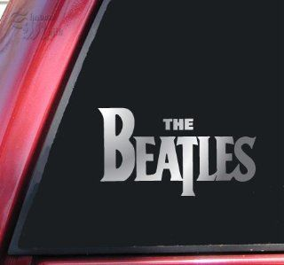 The Beatles Vinyl Decal Sticker   Shiny Chrome Automotive