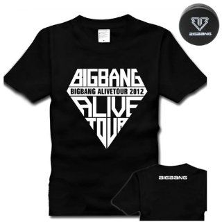 "[BIGBANG ""ALIVE TOUR"" premium T shirt] Unisex Size M (165 ~ 170cm) Black earphone cord holder Big Bang G DRAGON Ji Young Women's Korean items (japan import) Toys & Games"