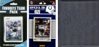 NFL Indianapolis Colts Licensed 2013 Score Team Set and Favorite Player Trading Card Pack Clothing