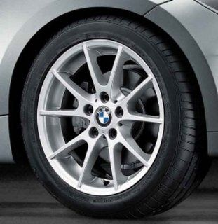 "BMW Genuine 18"" Wheel Rim double spoke 182 128i 135i 128i 135i E82 E88 Automotive"