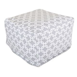Majestic Home Goods 27 x 27 x 17 Large Outdoor Ottoman   Ottomans