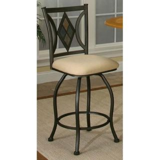 Sunset Trading Dart 24 in. Swivel Counter Stool   Dining Chairs