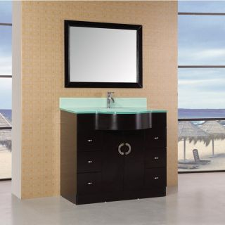 Design Element Aria 40 in. Single Bathroom Vanity Set   Single Sink Bathroom Vanities