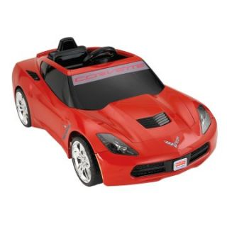 Fisher Price Power Wheels Corvette Battery Powered Riding Toy   Battery Powered Riding Toys