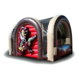 EZ Inflatables Bazooka Ball Bounce House   Commercial Inflatables