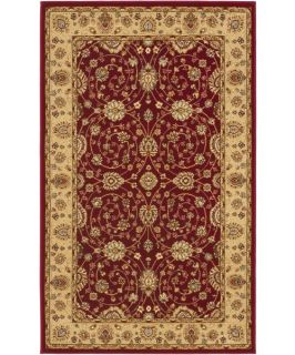 Safavieh Majesty MAJ4782 4015 Area Rug   Red/Camel   Area Rugs
