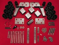 1999 2002 Chevrolet Silverado 2500 Body Lift Kit   Performance Accessories, Nylon, Direct fit, With bracket(s)