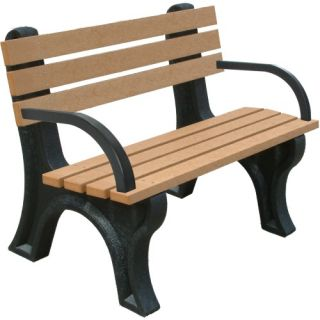Econo Mizer Commercial Grade Park Bench   Outdoor Benches