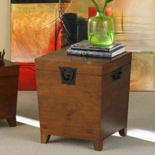 Southern Enterprises Pyramid Trunk End Table   End Tables