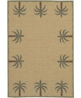 Surya Alfresco Palms Indoor/Outdoor Area Rug   Area Rugs