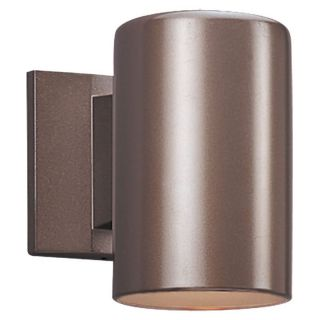 Sea Gull Outdoor Wall Lantern   7H in. Bronze   Dark Sky   Outdoor Wall Lights