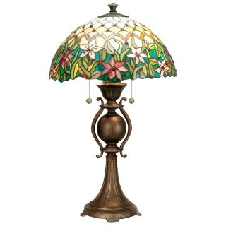 Dale Tiffany Toto Table Lamp   TT60270   Tiffany Table Lamps