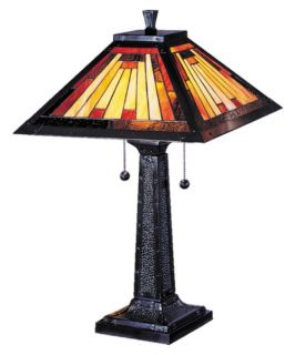 Dale Tiffany Mission Camelot Table Lamp   Tiffany Table Lamps