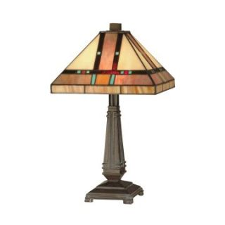 Dale Tiffany Hyde Park Mission Table Lamp   Tiffany Table Lamps