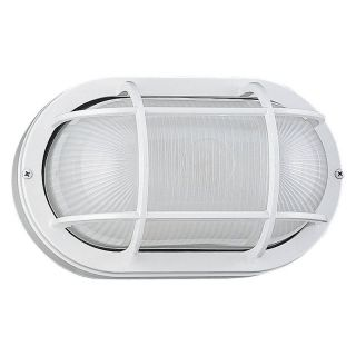 Sea Gull Outdoor Wall Light   13H in. White   ENERGY STAR   Outdoor Wall Lights