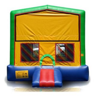 EZ Inflatables Rainbow Module Bounce House   Commercial Inflatables