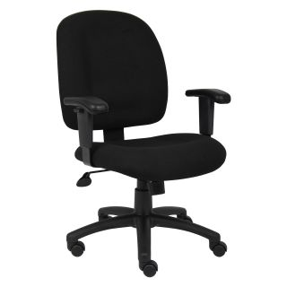 Boss Task Chair with Adjustable Arms   Desk Chairs