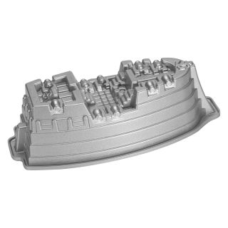 Nordic Ware Pro Cast Bakeware Nonstick Aluminum Pirate Ship Cake Pan   Cake Molds