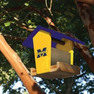 Team Sports America Collegiate Wood Bird Feeder Kit   Bird Feeders