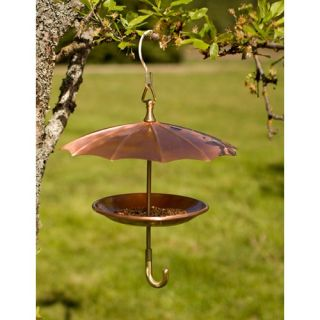 H. Potter Copper Umbrella Bird Feeder   Bird Feeders