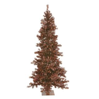 Vickerman Mocha Pre lit Wide Cut Christmas Tree   Christmas Trees