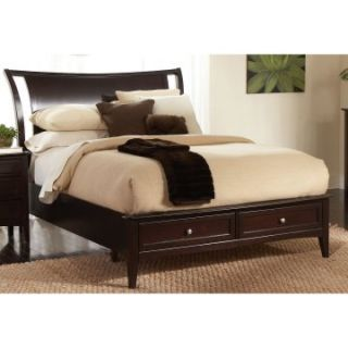 Newport Low Profile Sleigh Storage Bed   Sleigh Beds
