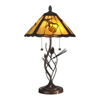 Dale Tiffany Ponderosa Table Lamp   Tiffany Table Lamps
