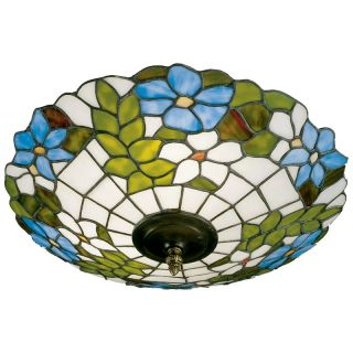 Dale Tiffany Wisteria Flush Mount Light   Tiffany Ceiling Lighting