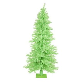 Vickerman Chartreuse Wide Cut Christmas Tree   Christmas Trees