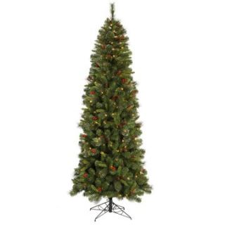 Mixed Pine Slim Pre lit Christmas Tree   Christmas Trees