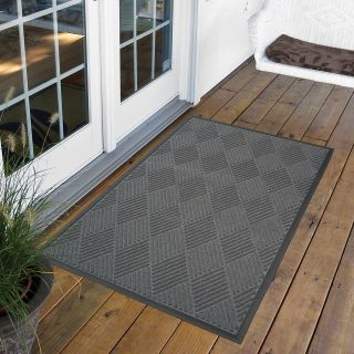 NoTrax Opus Indoor/Outdoor Rug   Gray   Commercial Mats