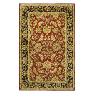 Safavieh Heritage HG628C Area Rug   Red/Black   Area Rugs