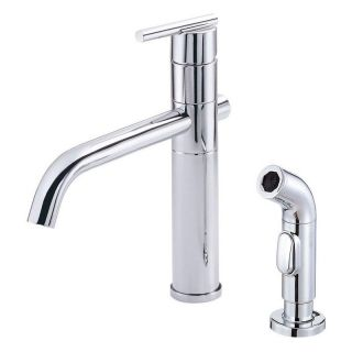 Danze Parma D405558 Single Handle Kitchen Faucet with Side Spray   Kitchen Faucets