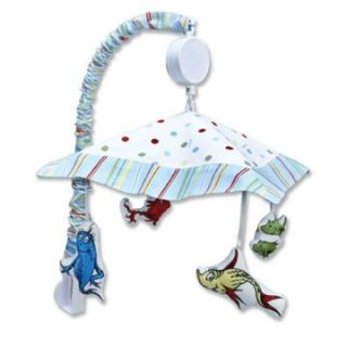 Trend Lab Mobile   Dr Seuss One Fish Two Fish   Nursery Decor