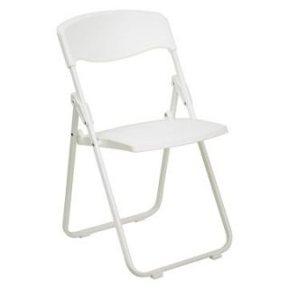 Hercules Series Heavy Duty Folding Chair   White   Banquet Chairs