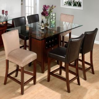 Jofran Chadwick Counter Height Table and 6 Chairs   Dining Table Sets