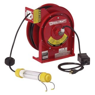 Reelcraft Heavy Duty LED Light Cord Reel   Equipment
