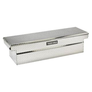 Tradesman Aluminum Cross Bed Truck Box with Push Buttons for Full Size Trucks   Truck Tool Boxes