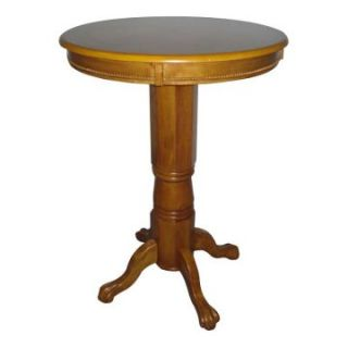 Boraam Florence Sunburst Pedestal Pub Table Fruitwood   Pub Tables