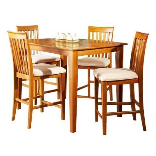 Shaker 5 Piece Pub Table Set   Dining Table Sets
