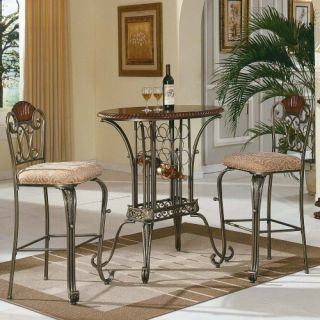 Steve Silver Sumatra 3 Piece Pub Table Set   Pub Tables