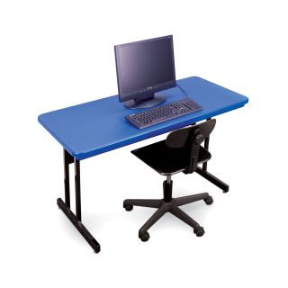 Correll Blow Molded Keyboard Height Computer Station   Computer Desks