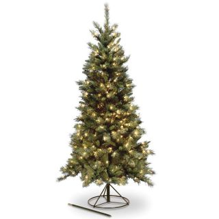 4 ft. Tiffany Pre Lit 3 in 1 Christmas Tree   Clear Lights   Christmas Trees