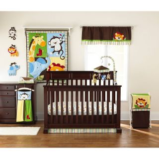 Too Good by Jenny McCarthy Jungle Jubilee 8 Piece Crib Bedding Set   Baby Bedding Sets