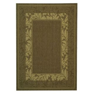 Safavieh Courtyard 1704 Indoor/Outdoor Area Rug   Chocolate   Area Rugs
