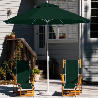 Frankford Umbrella Deluxe 9 ft. Wind Resistant Commercial Grade Market Umbrella   Commercial Patio Furniture