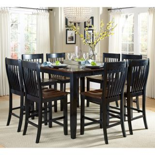 AHB Ellington 9 Piece Counter Height Dining Table Set   Dining Table Sets